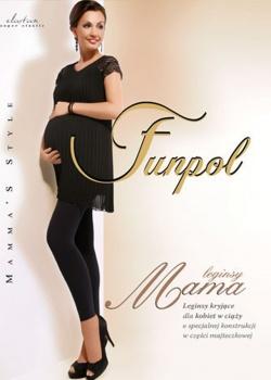 Funpol - Legginsy Mama Kryjące