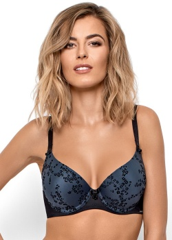 Nipplex Biustonosz Leonor Push-up Granat