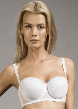 Dalia Biustonosz Ivette Bardotka K05 Biały 3