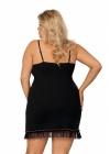 Donna Koszulka Nocna Xenia Plus Czarna 1
