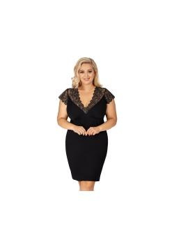 Donna Koszulka Nocna Sharon Plus Czarna