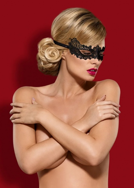 Obsessive Maska A701 Czarna
