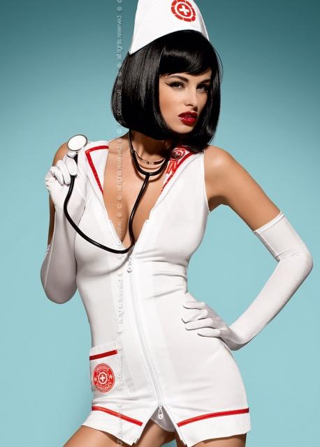 Obsessive - Kostium Emergency + Stetoskop