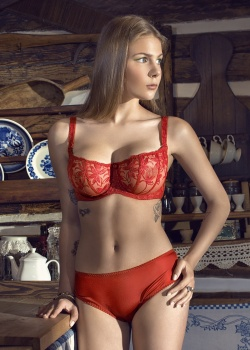 Dalia - Szorty Whitney Czerwone