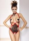 Anais - Body Aurea Czerwono-czarne