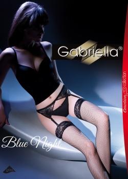 Gabriella - Komplet BlueNight (pończochy+pasek) code 219