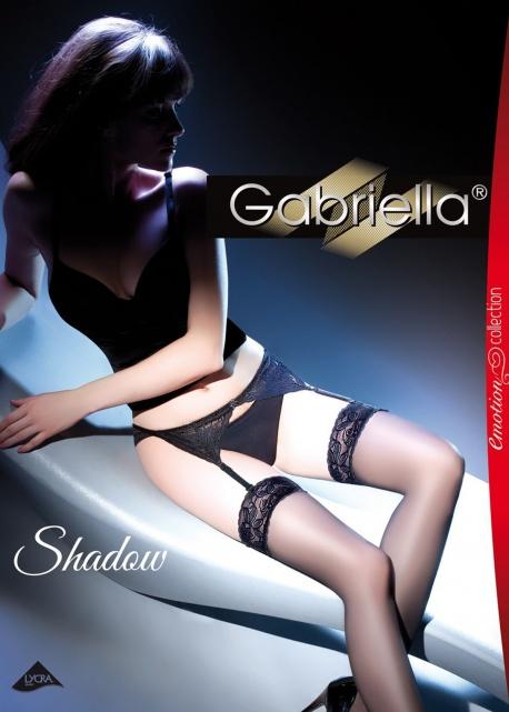 Gabriella - Komplet Shadow (pończochy+pasek) code 220
