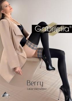 Gabriella - Pończochy grube Calze Berry