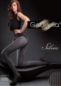 Gabriella - Rajstopy grube Silvia Nero
