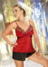 Irall - Komplet Salome Czerwono-czarny