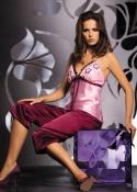 Irall - Piżama Sophie Brudny Róż