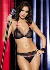 Obsessive - Komplet Showgirl Czarny