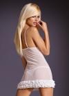 Obsessive - Koszulka Madame Biała