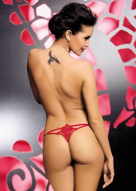 Obsessive - Stringi Luiza Czerwone