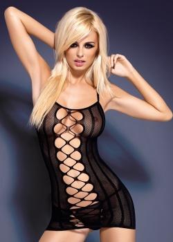 Obsessive - Sukienka D 300 Czarna
