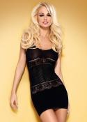 Obsessive - Sukienka D 307 Czarna