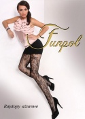 Funpol - Rajstopy Ażurowe