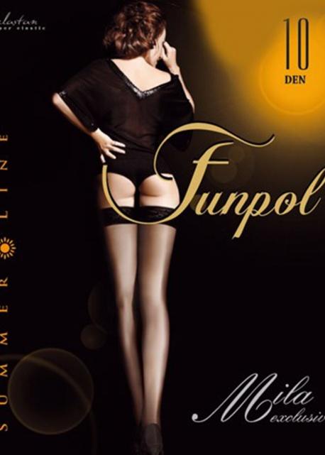Funpol - Pończochy Mila Exlusive den10