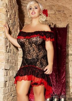 Andalea - Komplet Flamenco S/3018