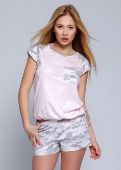 Sensis - Piżama Military Różowa