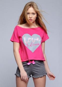 Sensis - Piżama Sanne Różowa