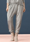Vanilla   Spodnie LW018 Szary Melanż