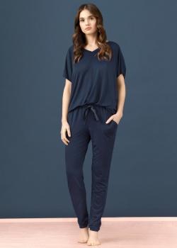 Vanilla   Spodnie LW004 Granat