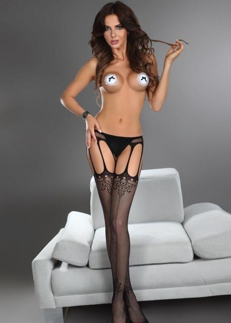 Livio Corsetti   Strip Panty Nora Czarne