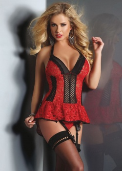 Livia Corsetti   Komplet Red Rose 5