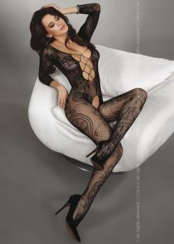 Livia Corsetti - Bodystocking Zita Black LC 17199