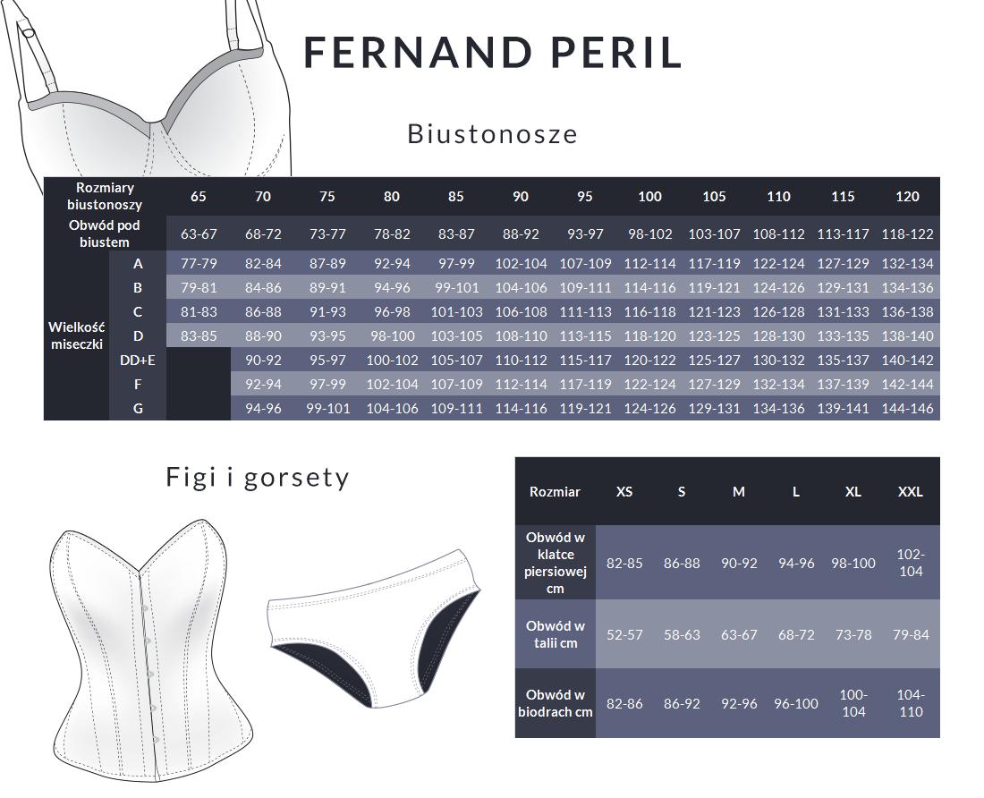 tabela rozmiarów fernand peril